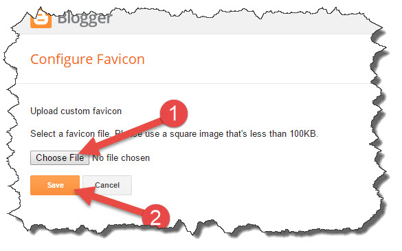 change blog favicon