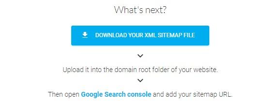 Generate sitemaps