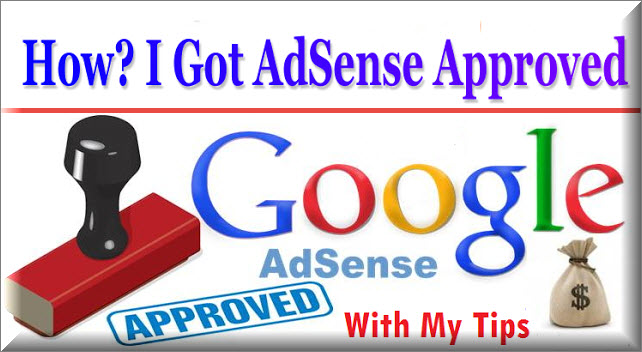 Adsense Account Approved ki jankari