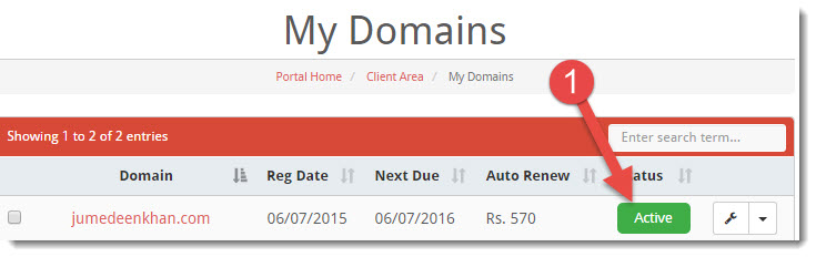 domain india