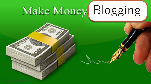 make money to blogging