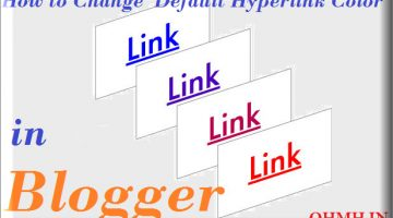 Default hyperlink color