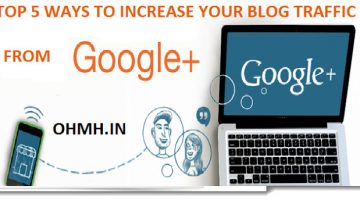 increase blog traffic to google pls