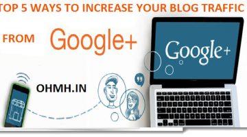 increase blog traffic to google pls