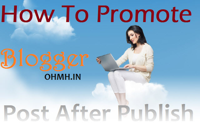 promote blog post after publish