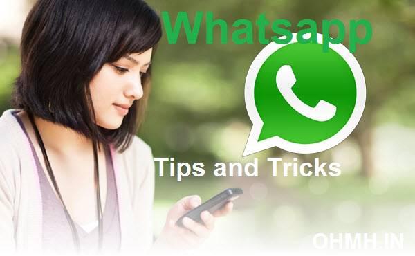 whatsapp tips & tricks