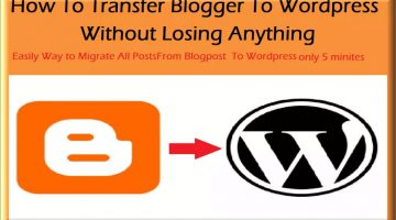 Migrate blogspot to WordPress