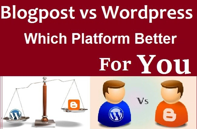 Blogspot Ya WordPress Platform