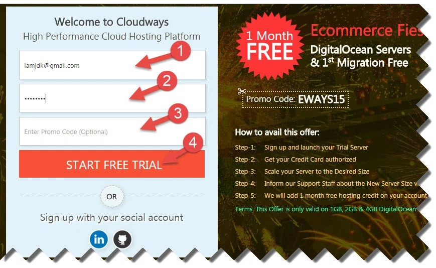 cloudways sign up forum