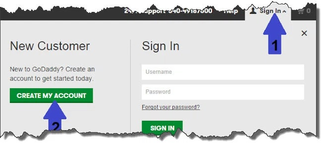 godaddy sign up forum