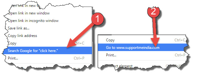 google chrome paste tips