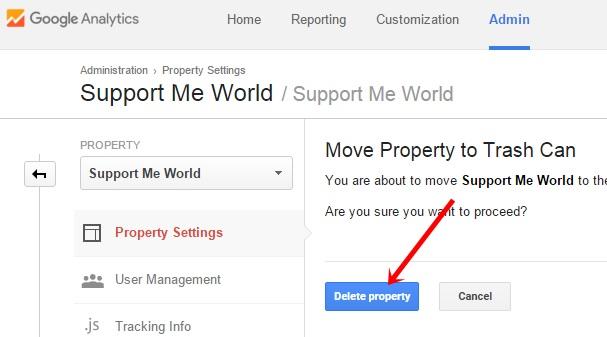 Delete Property