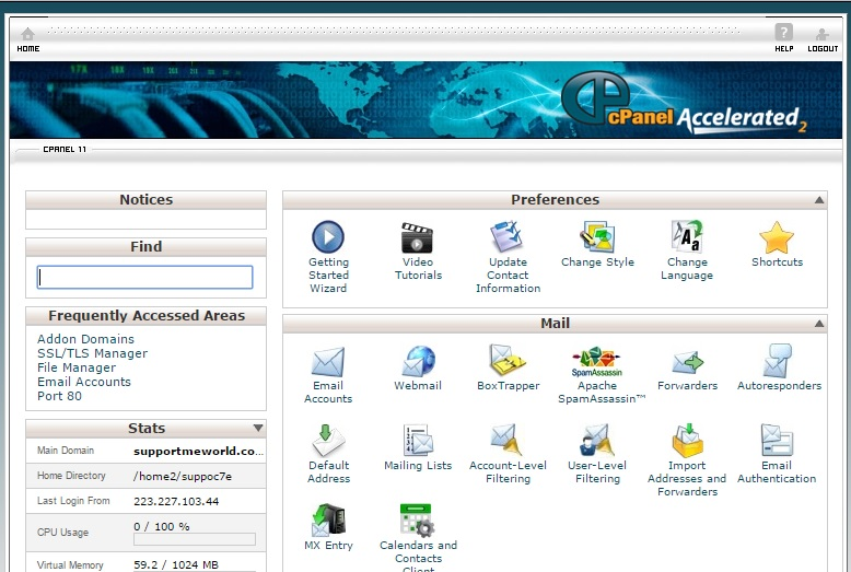 Hostgator hosting cpanel