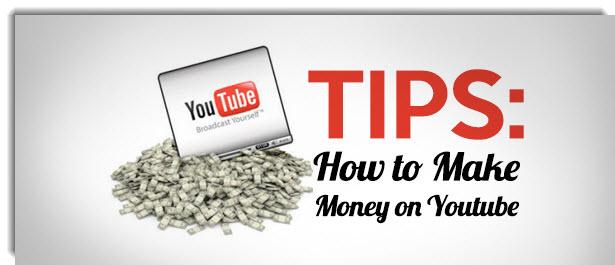 makey money on YouTube