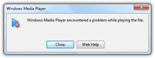 Computer Error Message