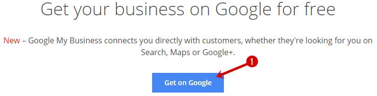 Get your business on Google for free