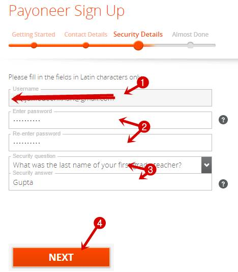 Payoneer Sign Up 3 - payoneer kya hai