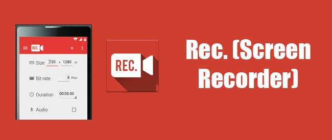 Rec Screen Recorder