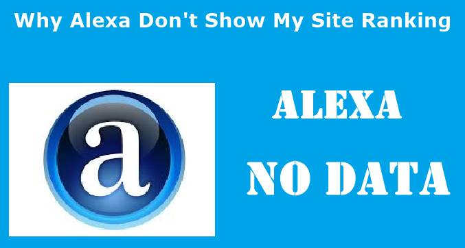 Alexa Site Ki Ranking No Data Kyu Show Karta Hai