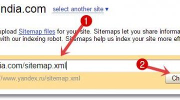 Check and add sitemap to yandex webmaster tools