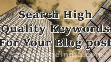 High Quality Keywords Post Topic Kaise Banate Hai