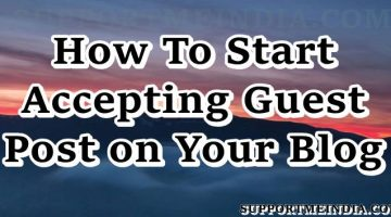 How to start accepting guest posts on your blgo