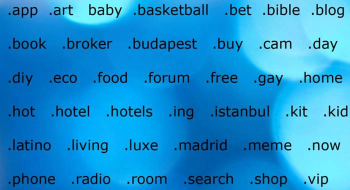 free domain name list