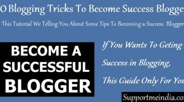 10 Blogging Tricks To Becoming a Success Blogger