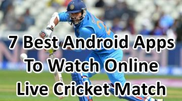 7 Best Android Apps For Watch online live cricket match