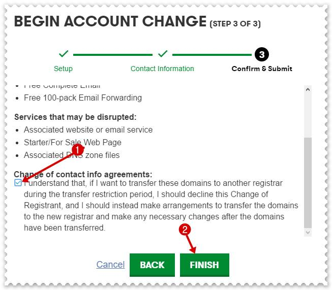 Begin Account Change 3