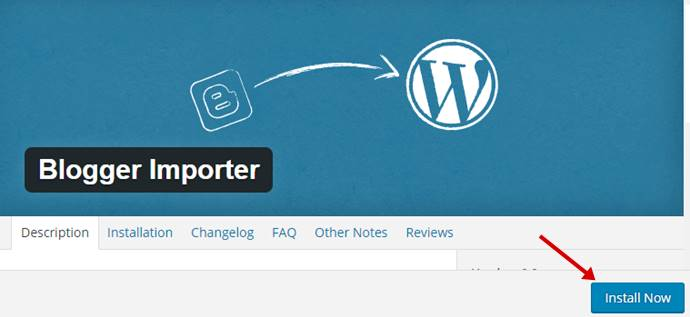 Blogger Importer
