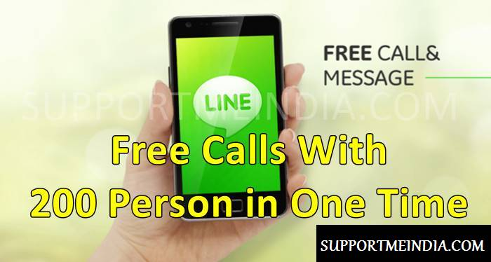 Free Call With 200 Person in One Time