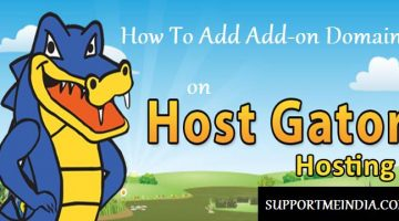 How To Add Add on Domain On Hostgator Hosting