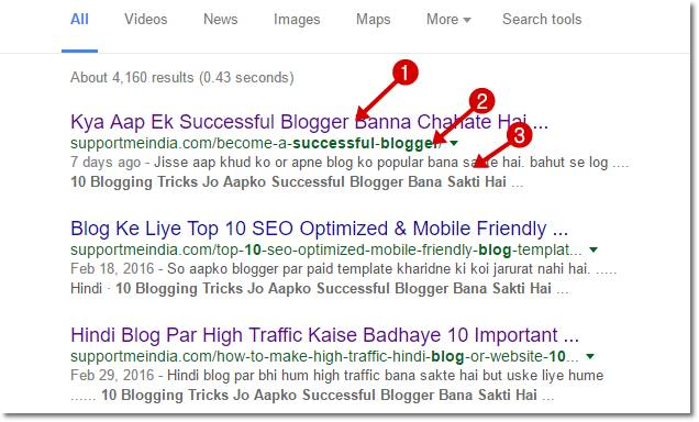Support Me India Search Result