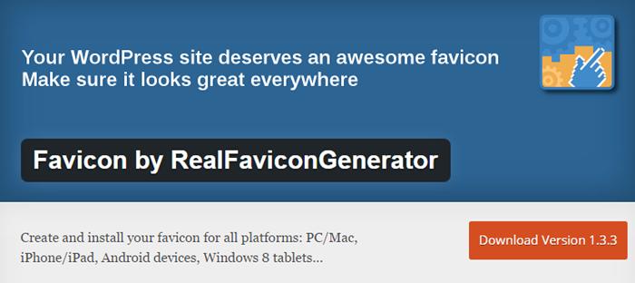 Wordpress Favicon Plugin