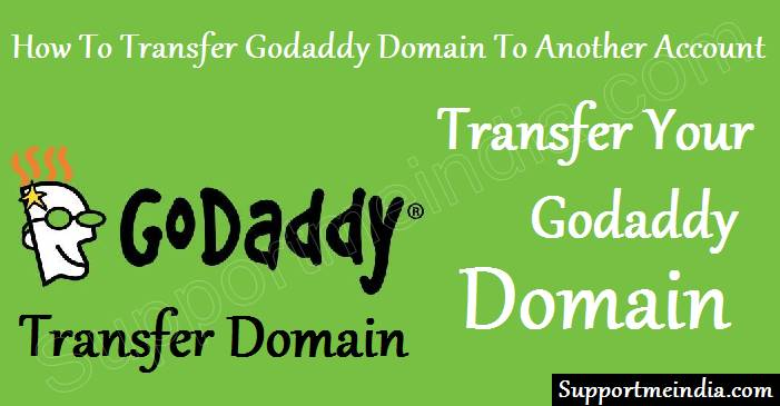 transfer godaddy domain to another account
