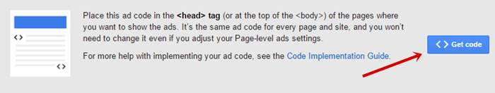 Add the code for Page-level ads to your pages