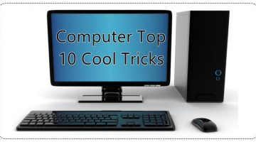 Computer Top 10 Cool Tricks