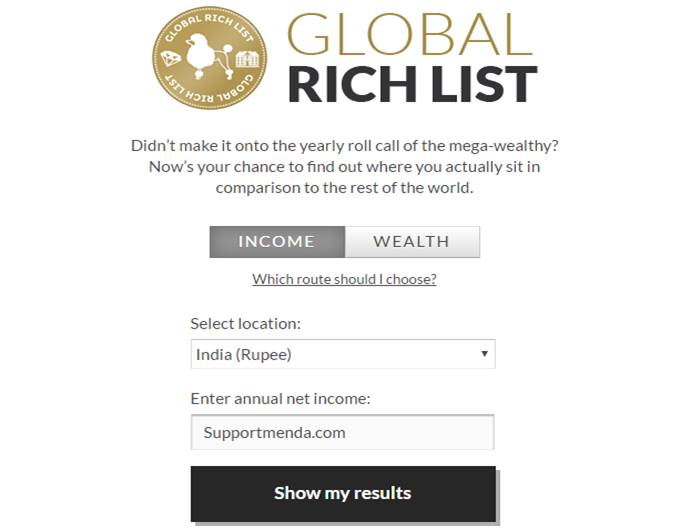 Global Rich List Checker