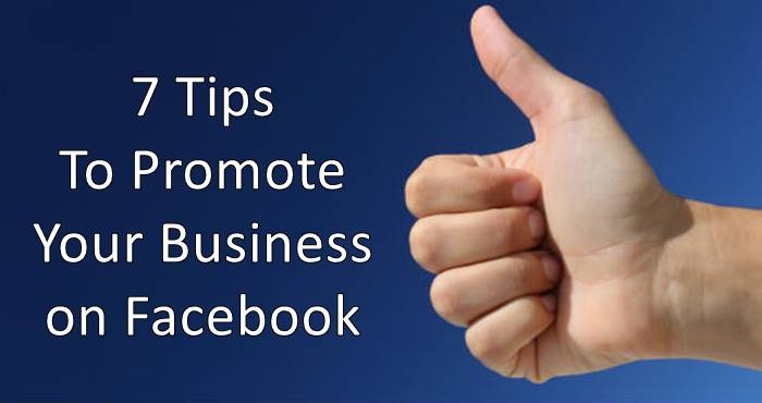 7 Tips to promote your online business on facebook