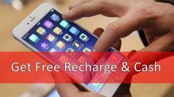 Get Free Recharge and Cash