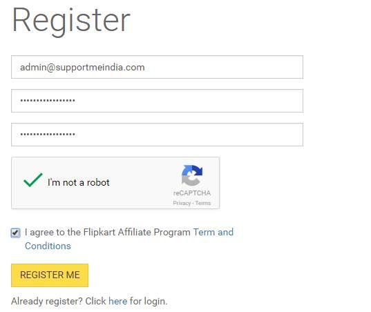 Join flipkart affiliate program