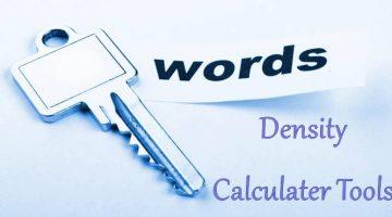 Free Online Keyword Density Checker Tools