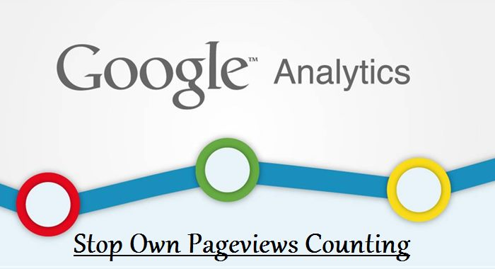 Stop Own Pageviews Counting