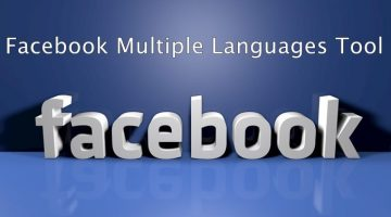 Facebook Multiple Languages Tool