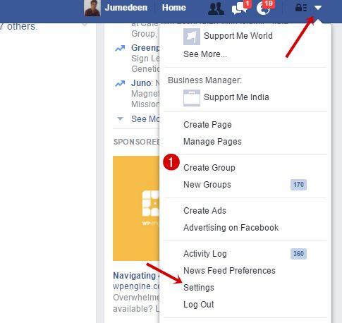 Facebook Multiple Languages feature