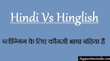 Hindi and Hinglish