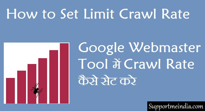 How to change googlebot crawl rate