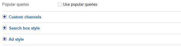 Popular queries