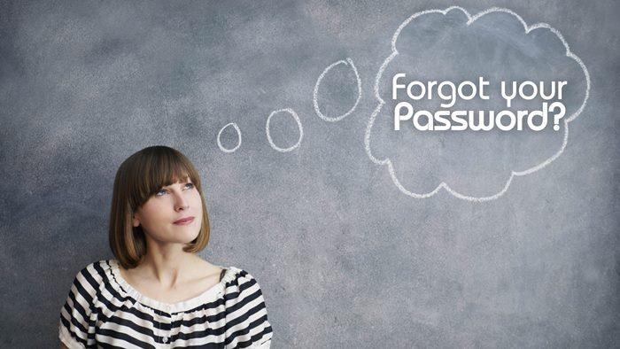 forgot your account password reset tips